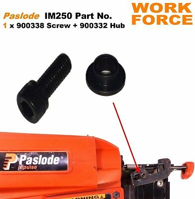 1x Screw + Hub -  Part No.  900338 + 900332  - For PASLODE IM250    014