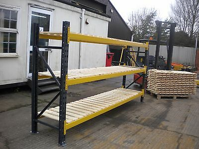 Link 51 Very Heavy Duty Pallet Racking Based Shelving Extra Wide