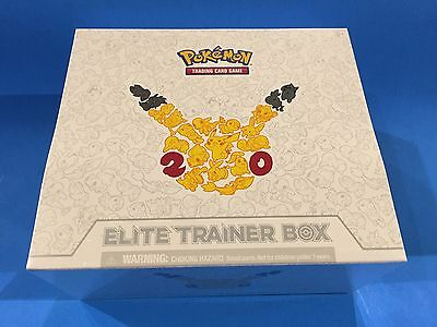 ( GENERATIONS ) - 20th Anniversary - Elite trainer box - Sealed New! - Pokemon