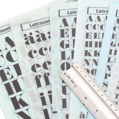 Letraset ANNLIE EX BOLD+ITALIC Rub On Transfer Lettering