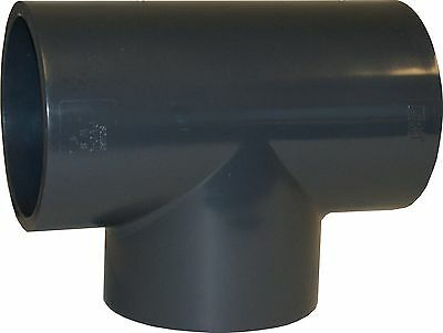 New Sch 80 Pvc 1 Inch Straight Tee Socket Connect New Sch 80 Pvc