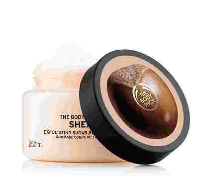 Body Shop SALE ◈ SHEA ◈ Exfoliating Body Scrub ◈ Leaves Skin Soft Smooth ◈ 50ml