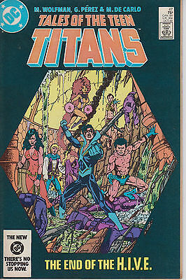 Tales of the Teen Titans 47 - 1984 - Perez - Very Fine -