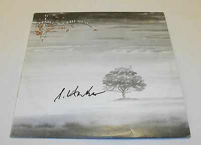 Genesis - Wind and Wuthering Vinyl LP Record *Steve Hackett Autographed*