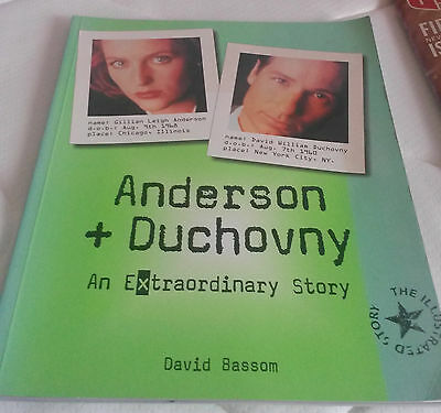 The X Files Anderson and Duchovny an Extraordinary Story book