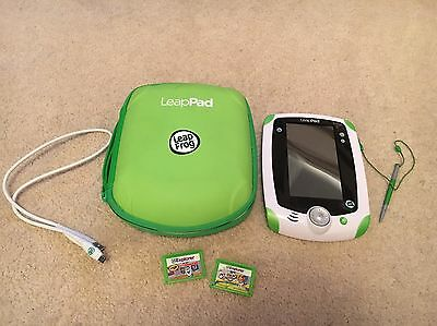 LeapPad - With Case, Cable And 2 Games