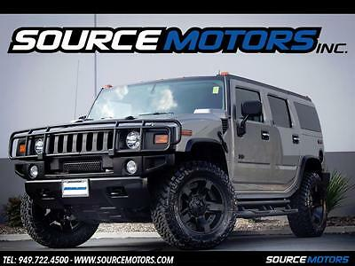 "H2  2004 Hummer H2 Wagon, Luxury, 20"" Rockstar Wheels, Blacked out, Low Miles, Snrf"