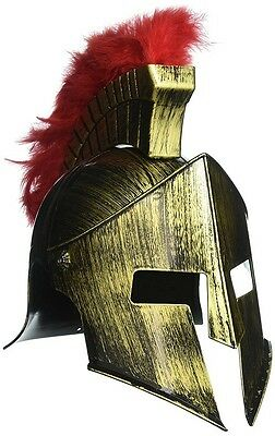 Ancient Spartan Helmet Life Size Replica Greek Roman Empire Helmet With Feathers