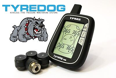 Tyredog TPMS Tyre Pressure Monitoring System 4 Wheel Wireless TD1000A Offroad