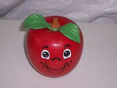 1972 Fisher Price Happy Apple musical crib toy
