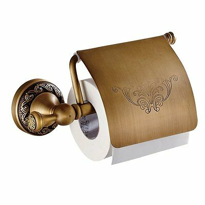 Leyden TM Bathroom Toilet Roller Paper Holder Lavatory Accessories Wall Antique
