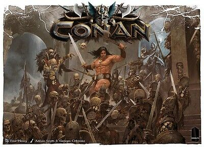 Conan Board Game - Monolith The Barbarian - Sealed - Canadian Seller