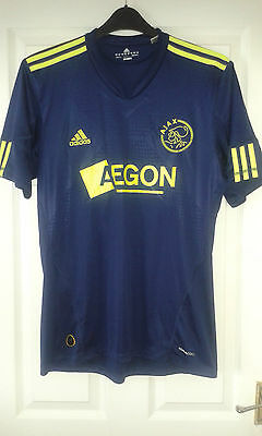 2 X Mens Football Shirt - Ajax Amsterdam - Home 2008 34/36 - Away 2008 S Adidas