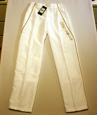 Olympic Torch Bearer Tracksuit Trousers Official London 2012 BNWT Unisex SMALL
