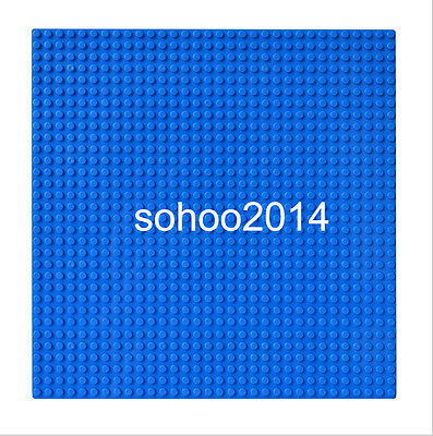 x2 Compatible for Lego Blue BasePlate display  building Block figure 32x32 Dots