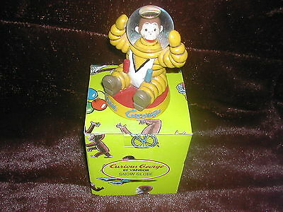 New Curious George Snow Globe Vandor 1997 #44052