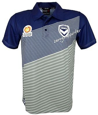 Melbourne Victory 2016 Mens Polyester Polo Shirt 'Select Size' S-5XL BNWT