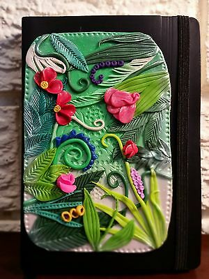 One-of-a-Kind Hand Decorated A6 Journal by SuperBabyshka