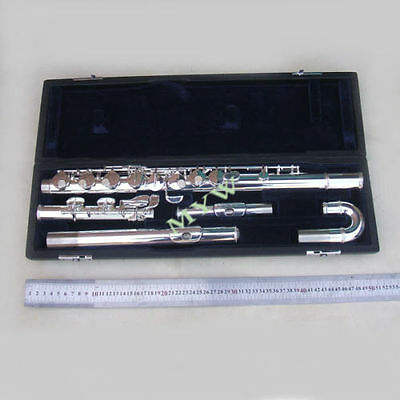 advanced alto flute outfit G key 2 mouthpieces silver plated  new
