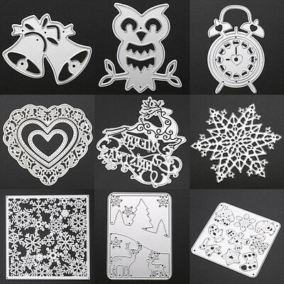 43 Pattern Diary Cutting Dies Stencil DIY Album Scrapbooking Paper Card Craft