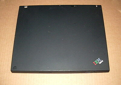 IBM ThinkPad T42 Laptop 1G RAM 40GB HDD TYPE 2373-A32,Working,No Charger #5PZA
