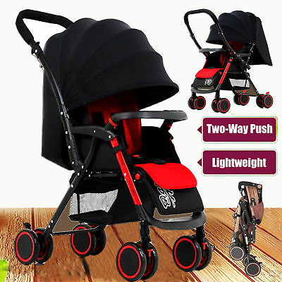 Newly Baby Stroller Umbrella Pram Infant Foldable Pushchair Travel System Buggy