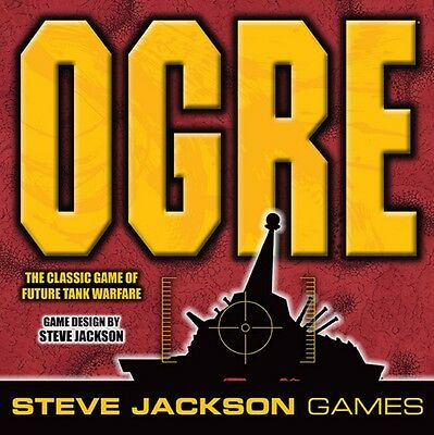 Ogre - (Sixth Edition) - Boardgame Steve Jackson Games - Brand New - Sealed