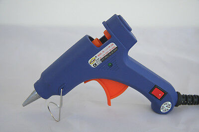 DETAIL MIni GLUE GUN High Temp 20w Fine Tip Nozzle + 10x free glue stick