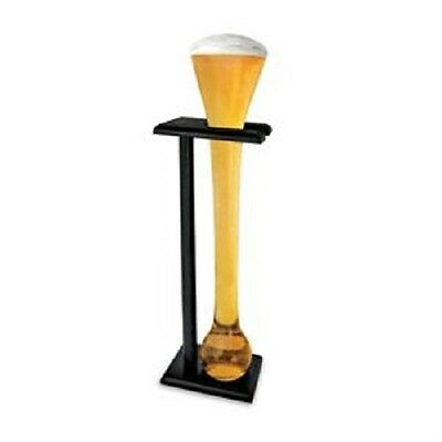 Full Yard Glass Beer Glass With Stand - 1.5 Litre Drinking Yard Beer Glass