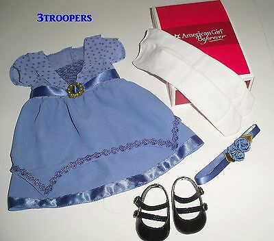 American Girl Doll Rebecca's Holiday Outfit New With Box
