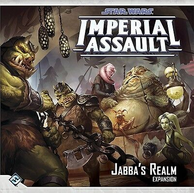 Star Wars Imperial Assault Jabba's Realm - Fantasy Flight Games - New Board Game