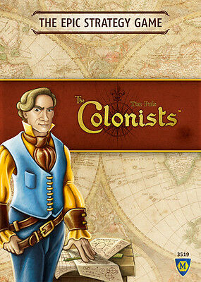 The Colonists - Strategy Board Game - Board game - Canadian Seller - Sealed