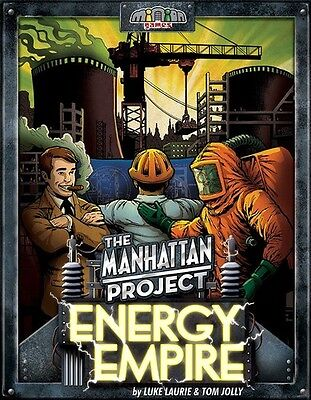 The Manhattan Project - Energy Empire - Brand New - Minion Games - Board game