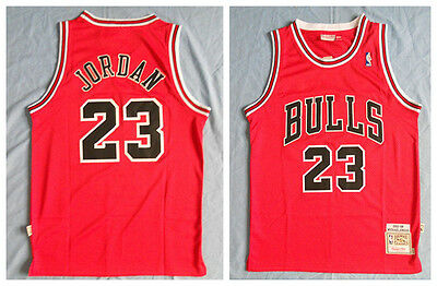 qlphfy 2017 New Michael Jordan Chicago Bulls Jersey Men #23 Throwback