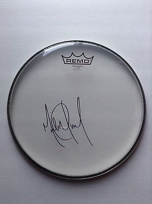"""9Michael Jackson HAND SIGNED Autographed Remo Drum Head 10"""" Drumhead (CD Record)"""