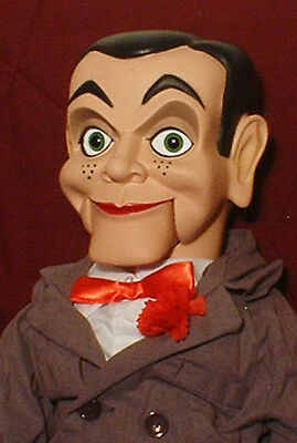 "HAUNTED Ventriloquist doll ""EYES FOLLOW YOU"" puppet creepy dummy Slappy OOAK"