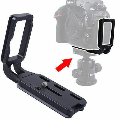 iShoot L Vertical Quick Release Plate/Camera Bracket/Holder for Nikon D800/D800E