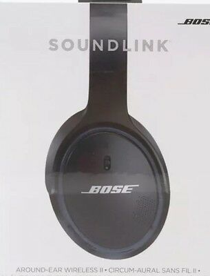 Bose SoundLink Around-Ear Wireless Headphones with Mic, Black #741158-0010
