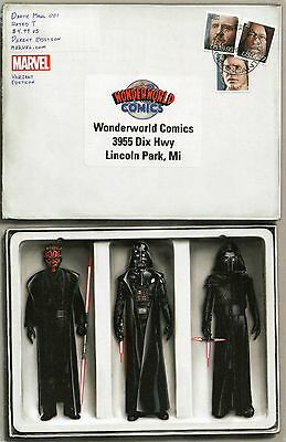 Star Wars Darth Maul #1 Wonderworld Sith Action Figure Variant JTC Mail Away