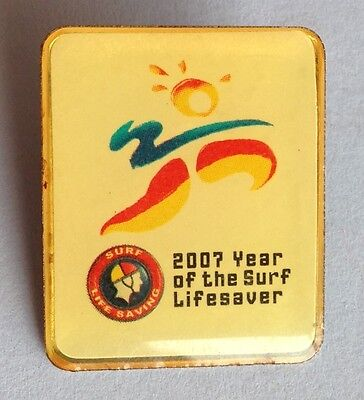 2007 Year Of The Lifesaver Life Saving Helicopter Pin Badge Rare Vintage (D7)