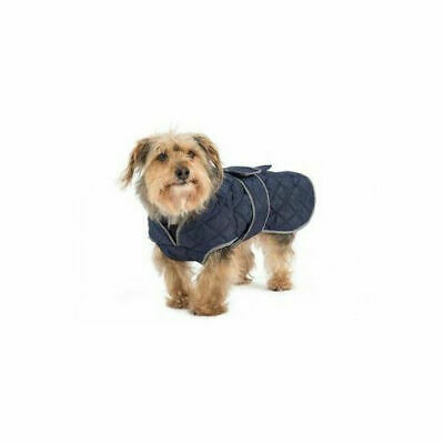Muddy Paws Quilted Coat Navy - Accessories - Dog - Coats