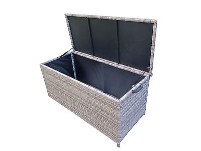 auflagenbox truhe gartenbox gartentruhe kissenbox. Black Bedroom Furniture Sets. Home Design Ideas
