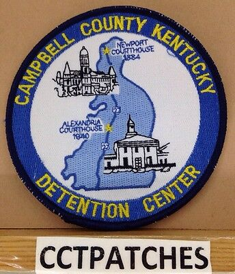 Campbell County, Kentucky Detention Center Correction (Police) Shoulder Patch Ky