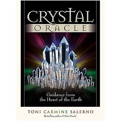 ✨NEW Crystal Oracle: Guidance from the Heart of the Earth Cards Deck Divination✨