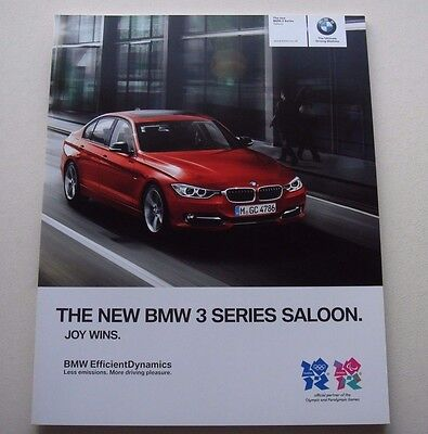 BMW . 3 . The New BMW 3 Series Saloon . February 2012 Sales Brochure