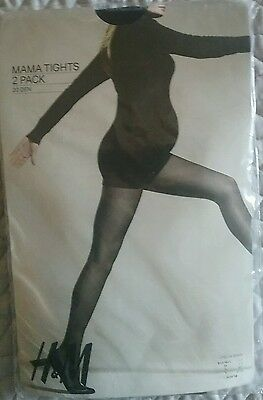Maternity Tights -2 pack size L