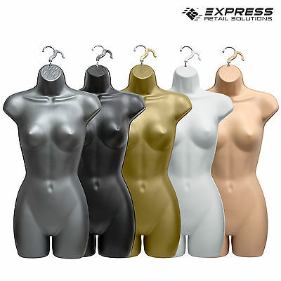 Female Hanging Full Body Mannequin  Form Top Quality Torso Display Bust