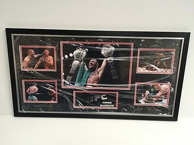 New Conor Mcgregor Limited Edition Framed Picture Ufc Memorabilia Sports Boxing