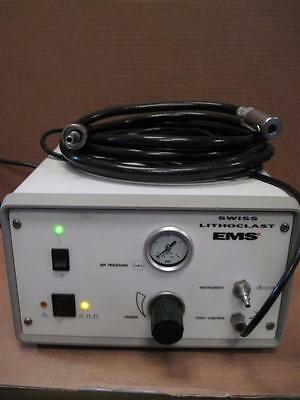 EMS Swiss Lithoclast with foot switch and hose