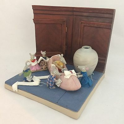 Robert Harrop Bagpuss Figurine The Ballet Shoe Bg06 New And  Boxed